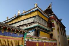 Mango monastery Royalty Free Stock Photography