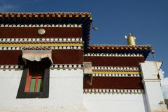 Mango monastery Royalty Free Stock Image