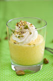 Mango mousse Royalty Free Stock Photos