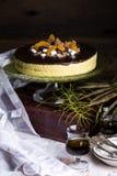 Mango Mousse Cake Royalty Free Stock Image