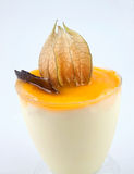 Mango Mousse Dessert Stock Images