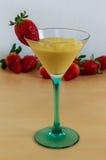 Mango mousse Royalty Free Stock Images
