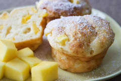 Mango Muffin Stock Images