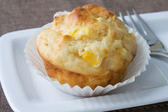 Mango Muffin Royalty Free Stock Photo