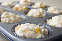 Mango Muffin Pastry Stock Images