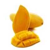 Mango na Białym tle Obrazy Royalty Free