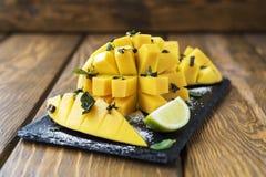 Mango-Nachtisch Lizenzfreie Stockfotografie