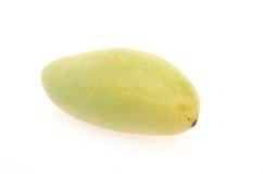Mango på vitbakgrund Royaltyfri Bild
