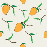 Mango pattern Stock Photos