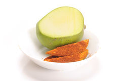 Mango pickle Stock Photography