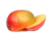 Mango pieces Stock Image