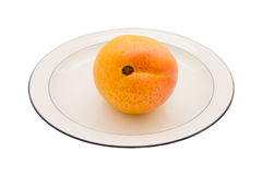 Mango On A Plate Stock Photos