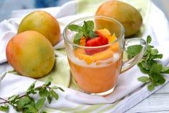 Mango-Pudding Stockbilder