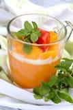 Mango-Pudding Lizenzfreie Stockbilder