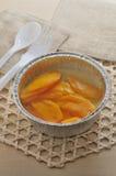 Mango pudding Stock Images