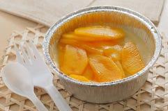 Mango pudding Stock Photo