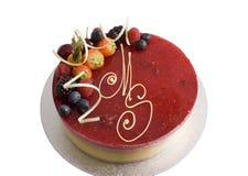 Mango Raspberry Mousse Royalty Free Stock Images