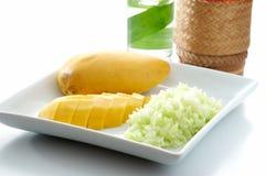 Mango rice. Royalty Free Stock Photo