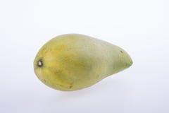 mango's of groene gele mango's op achtergrond Royalty-vrije Stock Fotografie