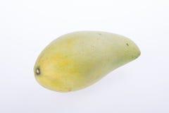 mango's of groene gele mango's op achtergrond Royalty-vrije Stock Afbeelding