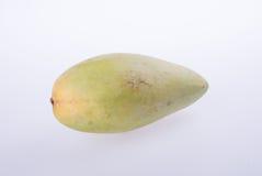 mango's of groene gele mango's op achtergrond Royalty-vrije Stock Foto's
