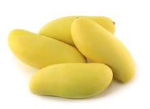 Mango's op Witte Achtergrond Royalty-vrije Stock Foto's