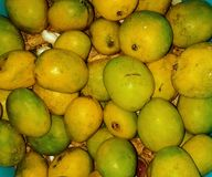 Mango's yummy smakelijk stock foto