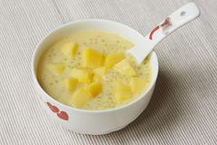Mango sago desert Royalty Free Stock Photography