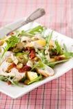 Mango salad. Salad with mango, smoked chicken and apple Stock Photo