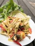 Mango salad or Som Tam Mango Stock Image