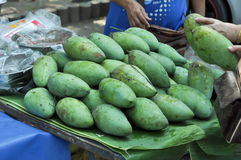 Mango sales Royalty Free Stock Images