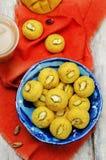 Mango sandesh. Bengali sweets Royalty Free Stock Photos