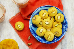 Mango sandesh. Bengali sweets Stock Photography