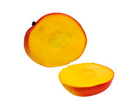 Mango sections Royalty Free Stock Images