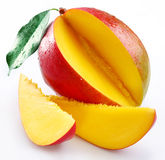Mango with sections