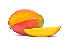 Mango and segment Royalty Free Stock Photo