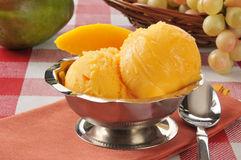 Mango Sherbet Royalty Free Stock Images