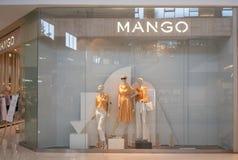 Mango sklep przy Megą Bangna, Bangkok, Tajlandia, Apr 12, 2018 zdjęcie stock