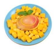 Mango slice Royalty Free Stock Photo
