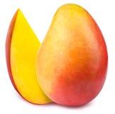 Mango with slice isolated Stock Photo