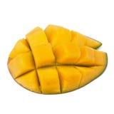 Mango sliced part Royalty Free Stock Images