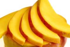 Mango slices stock image
