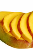Mango slices Royalty Free Stock Photography