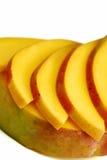 Mango slices royalty free stock photography