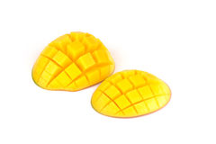 Mango slices Stock Photos