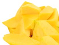 Mango slices Royalty Free Stock Photo