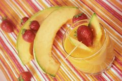 Mango smoothie Stock Photos
