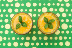 Mango smoothie Stock Image