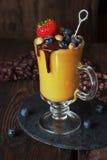 Mango smoothie Royalty Free Stock Image