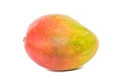 Mango som isoleras på på en vit bakgrund Arkivfoton